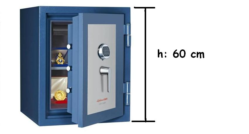 ES600 E Yüksek Güvenlikli Çelik Kasa EN1143