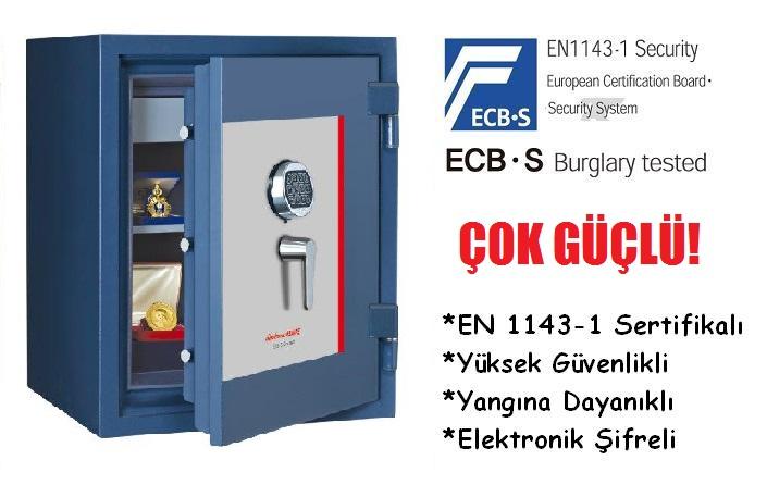 EN1143-1 Sertifikalı Yüksek Güvenlikli Çelik Kasa