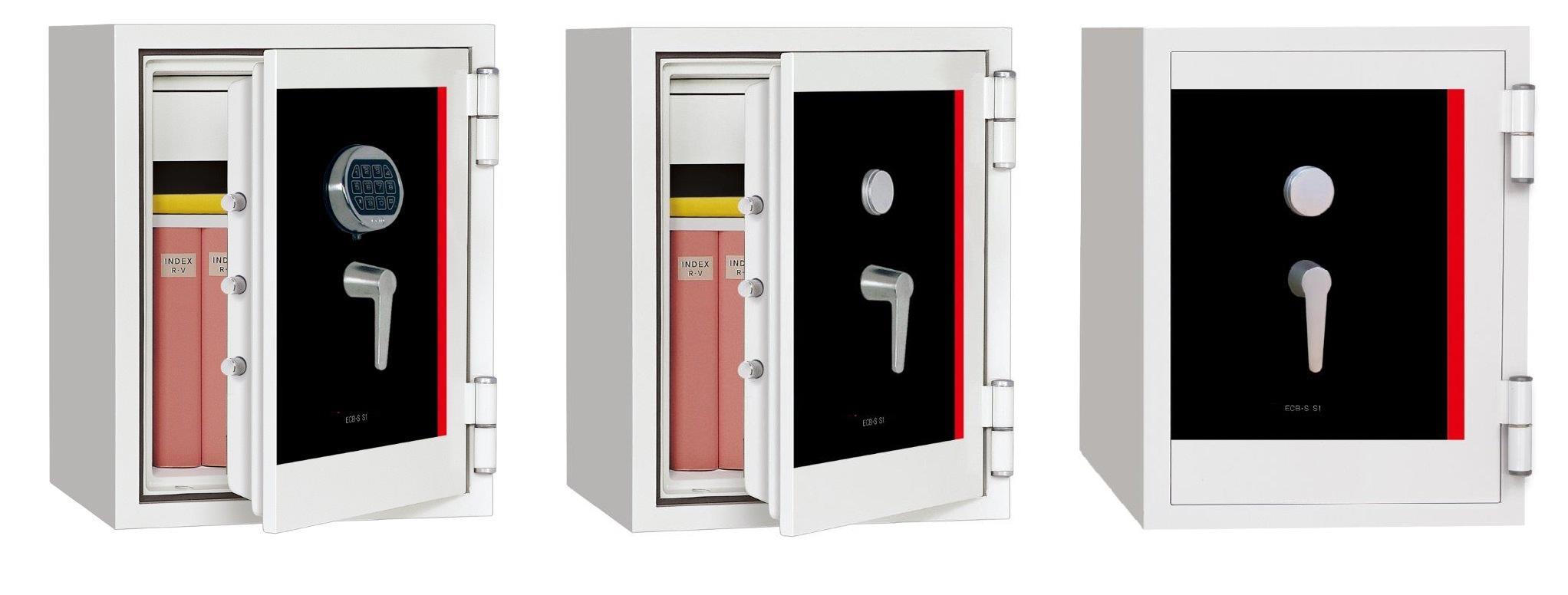 SS060 ECB.S EN14450 S1 sertifikalı yüksek güvenlikli çelik kasa