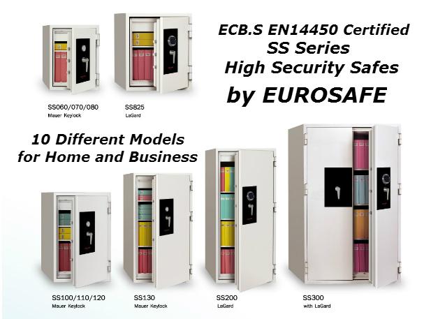 Yüksek Güvenlikli Çelik Para Kasaları EN14450 Sertifikalı