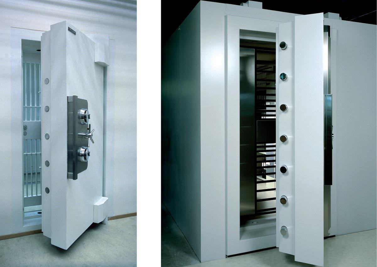 Kasa Daire Kapısı - Vault door -